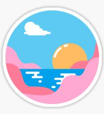Our Sunset Sticker