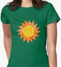 Sun Womens Fitted T-Shirt