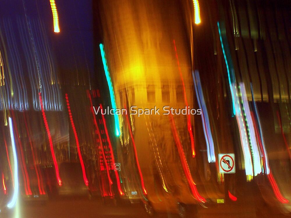 Chicago Blur by Vulcan Spark Studios