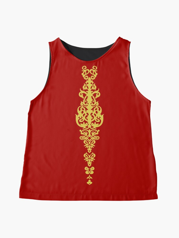 Alternate view of Queen Embroidery Sleeveless Top