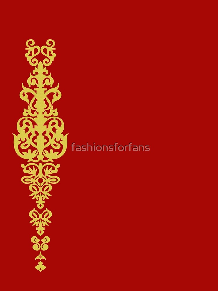 Queen Embroidery by fashionsforfans