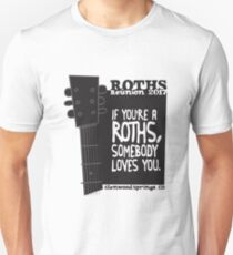 Roths Reunion 2017 (Black) Unisex T-Shirt
