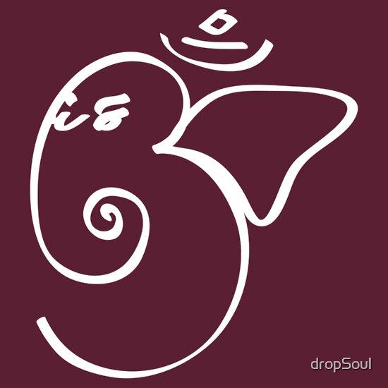 TShirtGifter presents: Ganesh Om Yoga T-shirt