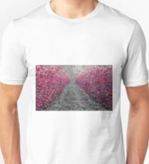 The Orchard in Red Unisex T-Shirt
