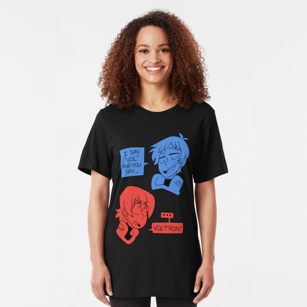 """I Say """"Vol""""... Slim Fit T-Shirt"""