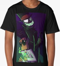 The Strange Case of Dr Flug & Mr Black Hat Long T-Shirt