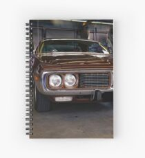 1973 Dodge Charger Spiral Notebook