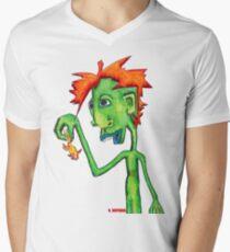 Electric Goldfish Men's V-Neck T-Shirt
