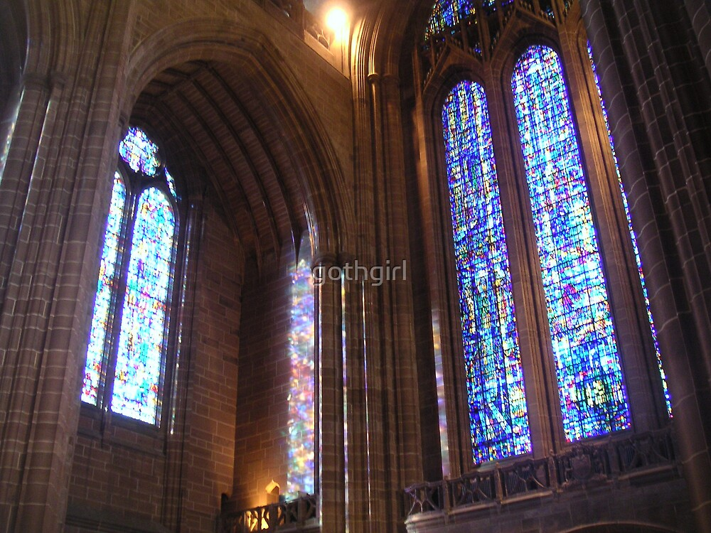 Stained Glass Windows by gothgirl