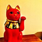 Lucky Cat by OneDayArt