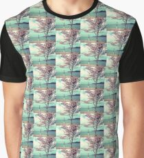 Blooms by the Sea Graphic T-Shirt