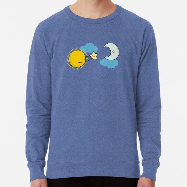 Sun and Moon - Cute Doodles Lightweight Sweatshirt
