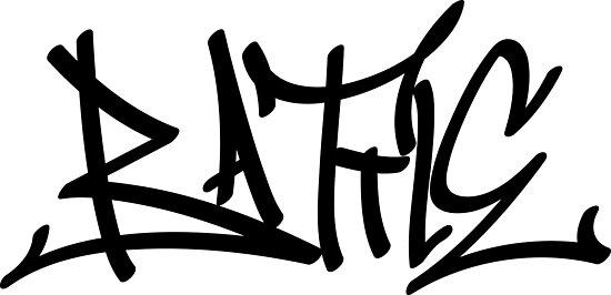 'graffiti letters creator drawings alphabet' Photographic Print by  ariyantcreative