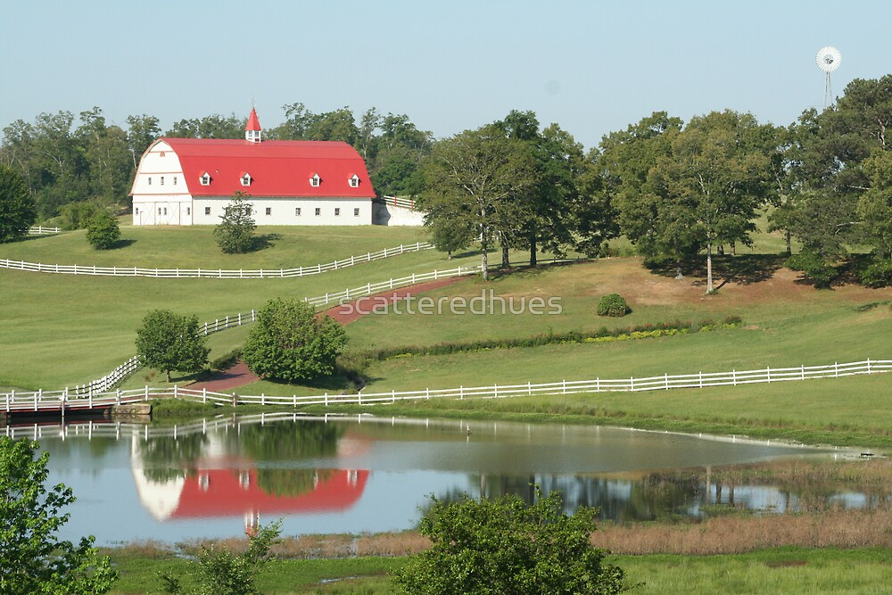 Red Farm House 2 by scatteredhues