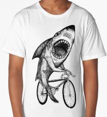 Shark Ride Bicycle  Long T-Shirt