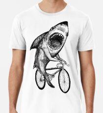 Shark Ride Fahrrad Männer Premium T-Shirts
