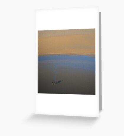 Insignificance Greeting Card
