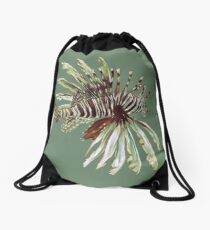 Lionfish Drawstring Bag