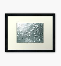 Drops, drops and more drops Framed Print