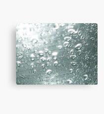 Drops, drops and more drops Canvas Print