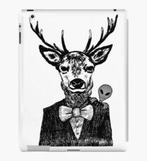 Funny Deer Spy 007 iPad Case/Skin