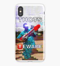 THOTS BEWARE - Deep Fried Meme iPhone Case/Skin