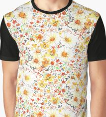 Vintage feel daisy wildflower pattern Graphic T-Shirt