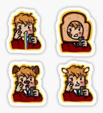 Carry On - Simon Snapchat Sticker