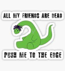 Pegatina Xo Tour Life - Lil Uzi Vert - Dinosaurio - Extinto