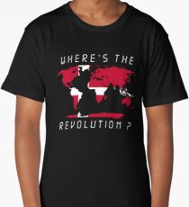 Wheres the revolution Denmark Long T-Shirt