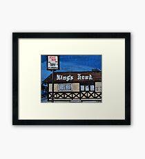 King's Head Inn R.I.P. Framed Print