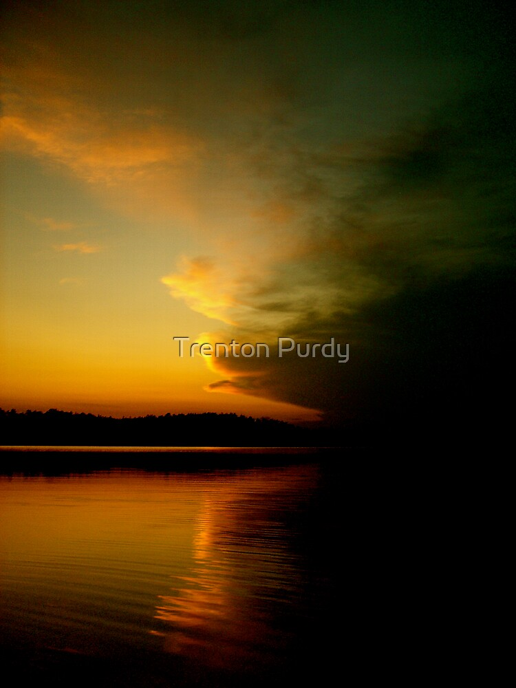 Colors on the Lake by Trenton Purdy