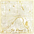 St. Paul Karte Gold von HubertRoguski