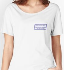 Conjectural Technologies (blue) Women's Relaxed Fit T-Shirt