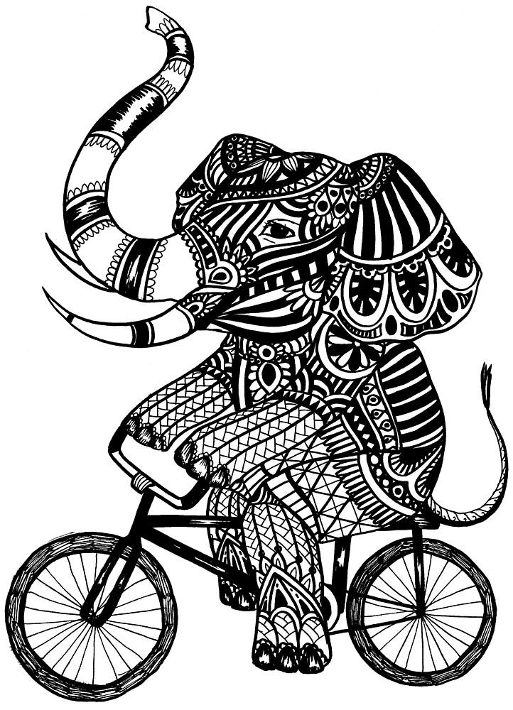 Funny Elephant by toshibung