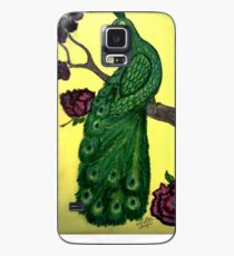 ASIAN PEACOCK Case/Skin for Samsung Galaxy