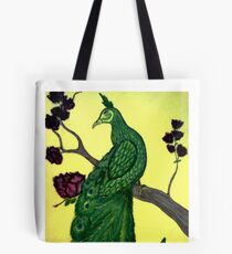 ASIAN PEACOCK Tote Bag