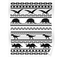 Quot Fancy Dinosaur Aztec Quot Mini Skirts By Toshibung Redbubble