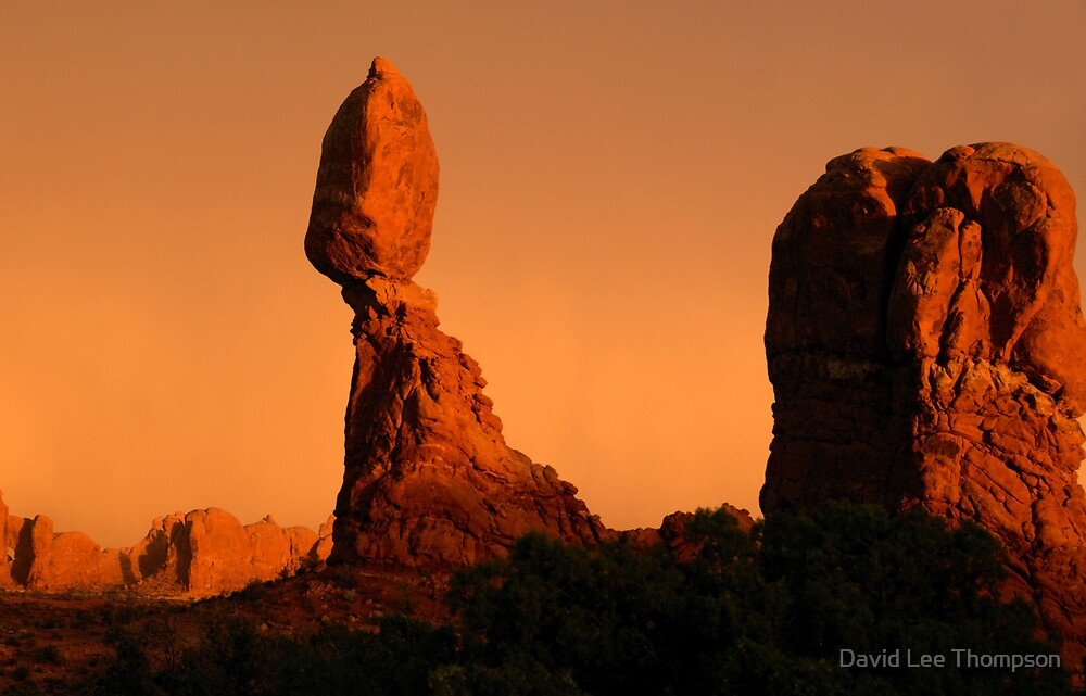 """Balance Rock"" by David Lee Thompson"