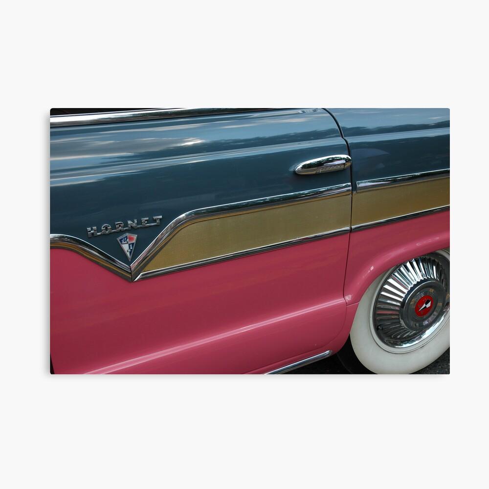Pink Hornet Canvas Print