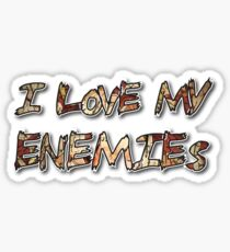 Pouya- I Love My Enemies Sticker
