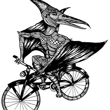 Pterosaur Bicycle by toshibung