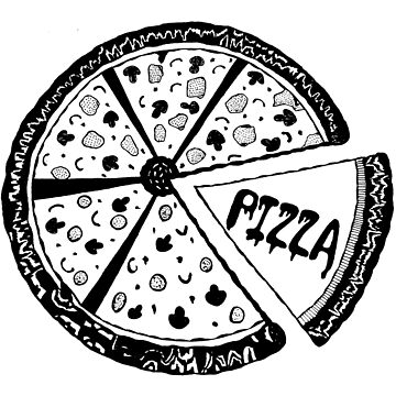 Pizza vintage style by toshibung