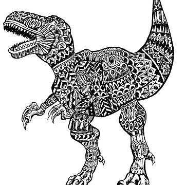 T REX AZTEC  by toshibung