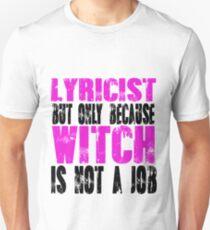 Lyricist Witch T-Shirt