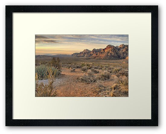 Sunrise at Red Rock by Howard Simpson