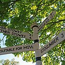 Sign for Stogumber by RedHillDigital
