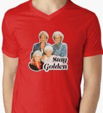 Stay Golden Men's V-Neck T-Shirt