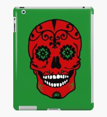 Mexican Skull Red iPad Case/Skin