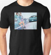 Mako & Sayuki Initial D Unisex T-Shirt